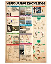 Surfing - Windsurfing Knowledge 11x17 Poster front