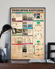 Surfing - Windsurfing Knowledge 11x17 Poster lifestyle-poster-2