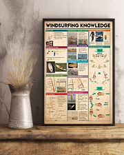 Surfing - Windsurfing Knowledge 11x17 Poster lifestyle-poster-3