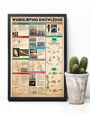 Surfing - Windsurfing Knowledge 11x17 Poster lifestyle-poster-8