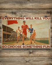 Running - Choose Something Fun 17x11 Poster aos-poster-landscape-17x11-lifestyle-14