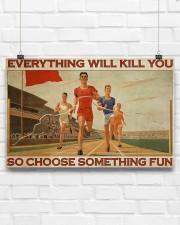 Running - Choose Something Fun 17x11 Poster aos-poster-landscape-17x11-lifestyle-17