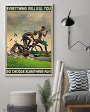 Swimming - Choose Something Fun 11x17 Poster lifestyle-poster-1