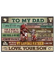 Motorcycle To My Dad  24x16 Poster front