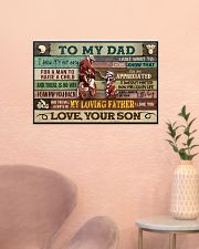 Motorcycle To My Dad  24x16 Poster poster-landscape-24x16-lifestyle-23