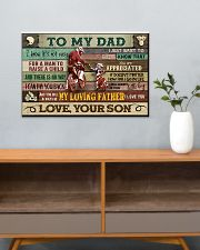 Motorcycle To My Dad  24x16 Poster poster-landscape-24x16-lifestyle-25