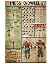 Fitness Knowledge Poster 11x17 Poster front