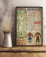Fitness Knowledge Poster 11x17 Poster lifestyle-poster-3