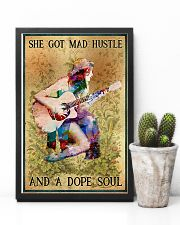 Hippie - She Got Mad Hustle And A Dope Soul 11x17 Poster lifestyle-poster-8