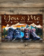 Hiking - You And Me We Got This 17x11 Poster aos-poster-landscape-17x11-lifestyle-14