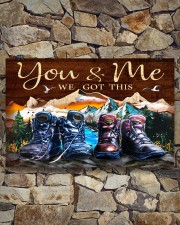 Hiking - You And Me We Got This 17x11 Poster aos-poster-landscape-17x11-lifestyle-16