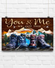 Hiking - You And Me We Got This 17x11 Poster aos-poster-landscape-17x11-lifestyle-17