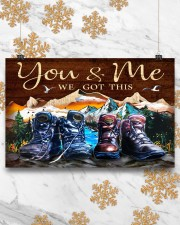 Hiking - You And Me We Got This 17x11 Poster aos-poster-landscape-17x11-lifestyle-30
