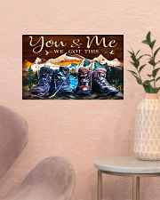 Hiking - You And Me We Got This 17x11 Poster poster-landscape-17x11-lifestyle-22