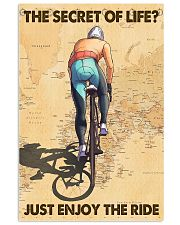 Cycling The Secret Of Life Just Enjoy The Ride 11x17 Poster front