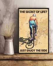 Cycling The Secret Of Life Just Enjoy The Ride 11x17 Poster lifestyle-poster-3