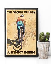 Cycling The Secret Of Life Just Enjoy The Ride 11x17 Poster lifestyle-poster-8