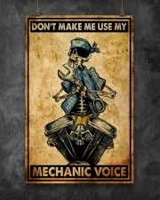 Mechanic Cool Skull 11x17 Poster aos-poster-portrait-11x17-lifestyle-12