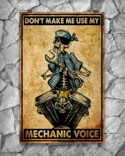 Mechanic Cool Skull 11x17 Poster aos-poster-portrait-11x17-lifestyle-13