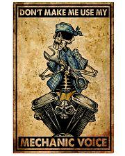 Mechanic Cool Skull 11x17 Poster front