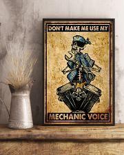 Mechanic Cool Skull 11x17 Poster lifestyle-poster-3