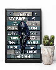 Cycling I Ride To Feel Strong 11x17 Poster lifestyle-poster-8