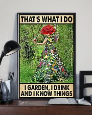 Gardening Drink Know Things 11x17 Poster lifestyle-poster-2