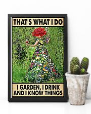 Gardening Drink Know Things 11x17 Poster lifestyle-poster-8