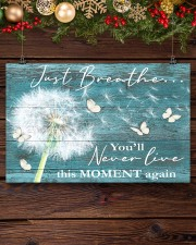 Hippie Just Breathe Live This Moment  17x11 Poster aos-poster-landscape-17x11-lifestyle-27