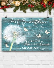 Hippie Just Breathe Live This Moment  17x11 Poster aos-poster-landscape-17x11-lifestyle-28