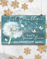 Hippie Just Breathe Live This Moment  17x11 Poster aos-poster-landscape-17x11-lifestyle-30