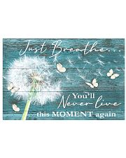 Hippie Just Breathe Live This Moment  17x11 Poster front