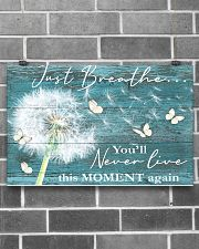 Hippie Just Breathe Live This Moment  17x11 Poster poster-landscape-17x11-lifestyle-18