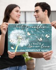 Hippie Just Breathe Live This Moment  17x11 Poster poster-landscape-17x11-lifestyle-20