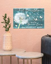 Hippie Just Breathe Live This Moment  17x11 Poster poster-landscape-17x11-lifestyle-21
