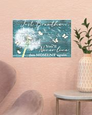 Hippie Just Breathe Live This Moment  17x11 Poster poster-landscape-17x11-lifestyle-22