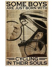 Cycling In Boys' Souls 11x17 Poster front