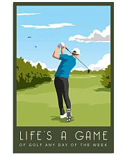 Golf Life Is A Game 11x17 Poster front