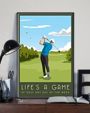 Golf Life Is A Game 11x17 Poster lifestyle-poster-2
