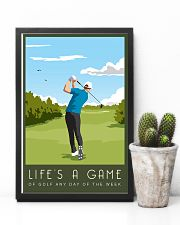 Golf Life Is A Game 11x17 Poster lifestyle-poster-8