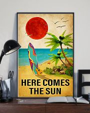 Surfing - Here Comes The Sun 11x17 Poster lifestyle-poster-2