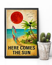 Surfing - Here Comes The Sun 11x17 Poster lifestyle-poster-8