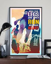 Running - Run With Your Heart 11x17 Poster lifestyle-poster-2