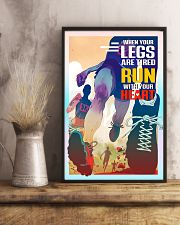 Running - Run With Your Heart 11x17 Poster lifestyle-poster-3