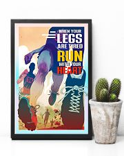 Running - Run With Your Heart 11x17 Poster lifestyle-poster-8