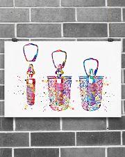 Dentist Dental Implant Watercolor 17x11 Poster poster-landscape-17x11-lifestyle-18