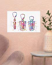 Dentist Dental Implant Watercolor 17x11 Poster poster-landscape-17x11-lifestyle-22