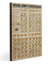 Carpenter Wood Joint Knowledge  Gallery Wrapped Canvas Prints tile