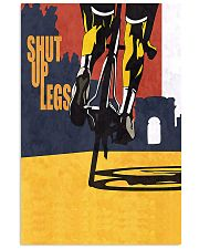 Cycling Shut Up Legs 11x17 Poster front