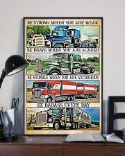Trucker - Be Strong When You Are Weak 11x17 Poster lifestyle-poster-2